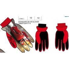 ПЕРЧАТКИ лыжные утепленные ТАЧКИ 3-4 года